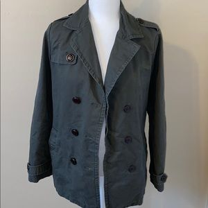 Camo Green Trendy Jacket